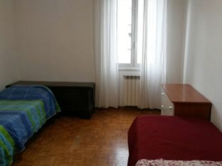Affitto 2 posti letto in camera grande e luminosa