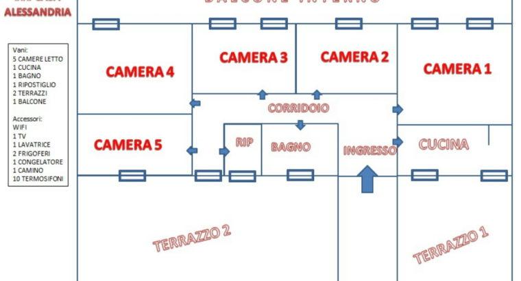 Ascoli Piceno affitto Singole per studentesse formula tutto incluso
