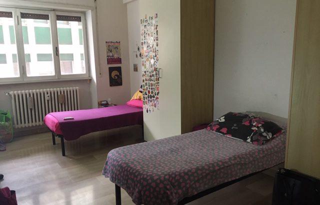 Roma Affittasi due posti letto in camera doppia zona San Paolo Roma