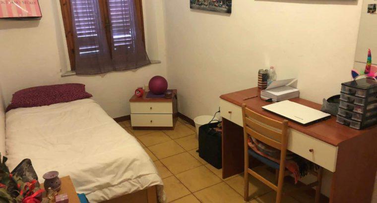 Affitto camera singola Pisa eur 250/mese. solo per studentesse o ragazze lavoratrici
