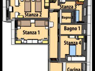 Appartamento studentesse a Fuorigrotta, Napoli
